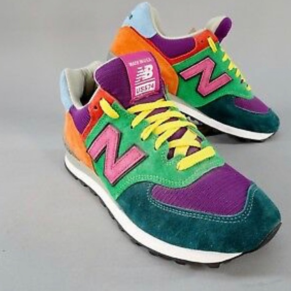 buy popular e53b2 52ef1 Womens New Balance 574 NEW MULTICOLOR Size 10 NWT